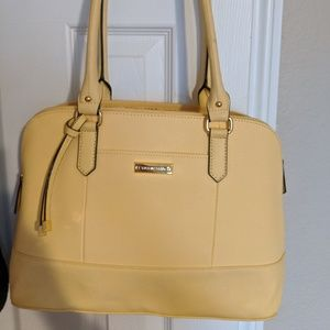 Tignanello Light Yellow Tote